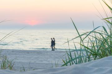 Spaziergang am Ostseestrand
