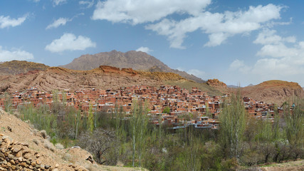 abyaneh village a relic of ancient Persia, 2500 yers ago,Kashan, Iran