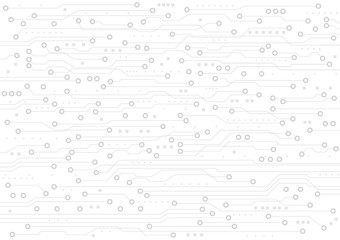 Vector circuit board background design for digital technology