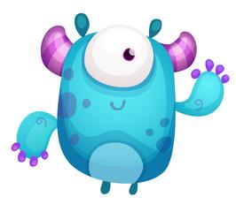 Cartoon Cute Monster