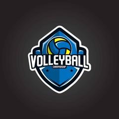 Volleyball Logo Championship