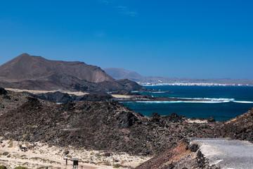 Insel Lobos bei Fuerteventura den Kanarischen Inseln