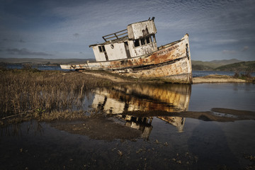 Derelict Fishing Boat, Point Reyes