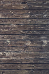 Fragment of wooden wall, detail textured background