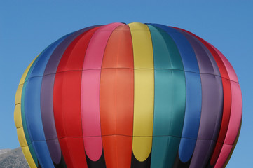 Single Hot Air Balloon Top at BalloonaVista
