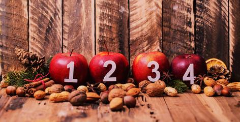 Weihnachten Äpfel