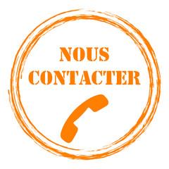 Logo nous contacter.