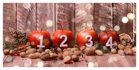 Weihnachtsäpfel  Advent