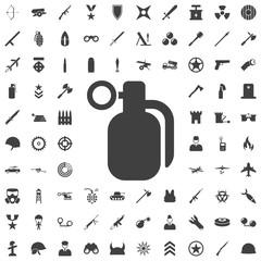 hand grenade - vector icon.