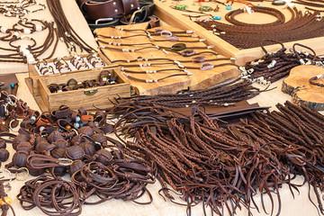 Mercado medieval del cuero