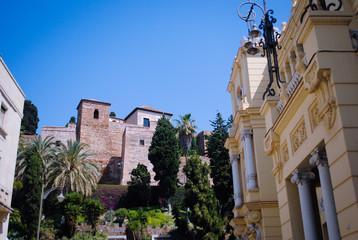 Alcazaba y edificios