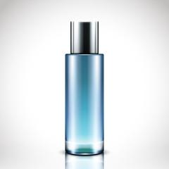 blank cosmetic bottle