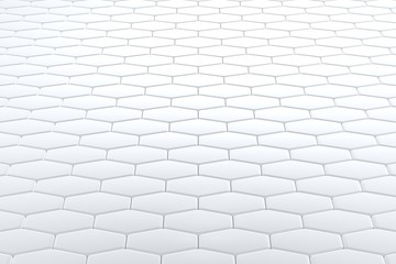 Abstract background of tile wall. 3D rendering.