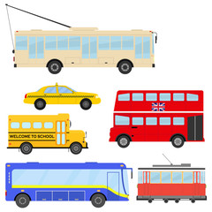 Transport, car, bus