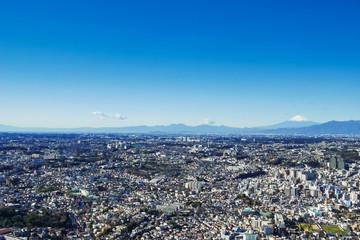 神奈川県 横浜市 富士山