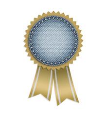 Award jeans sticker