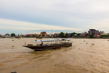 タイ・バンコク チャオプラヤー川観光