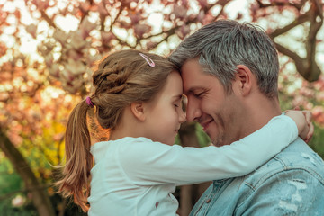 father with daughter vater mit tochter