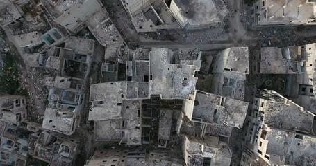 ville détruite homs syrie
