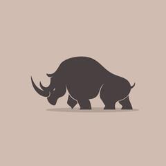 Rhino Silhoulette