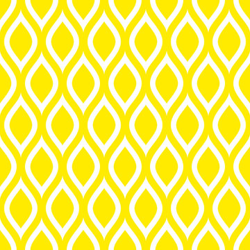 Abstract Retro Seamless Pattern Lemons