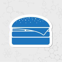 Vector burger icon