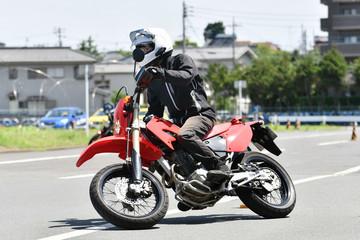 バイクの練習