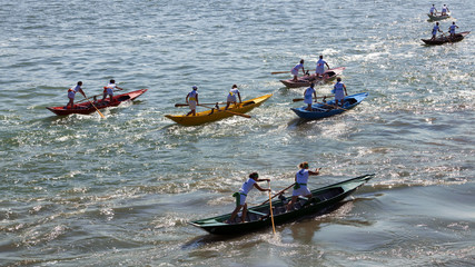 Venezia, regata femminile della festa della Sensa