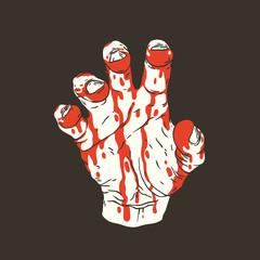 Hand gesture Agrrr!