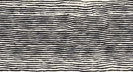 grunge brush painted horizontal lines seamless pattern
