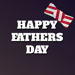 Happy Fathers Day flyer, banner or poster, Fathers Day, Best Dad