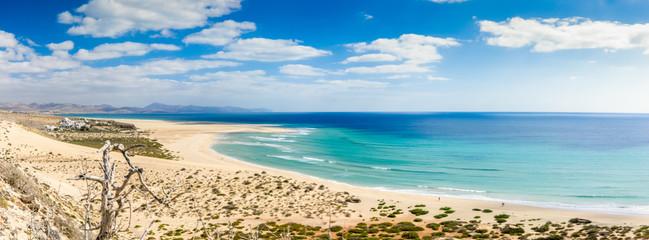 Kite - Surferparadies, Playa De Sotavento auf Fuerteventura / Spanien