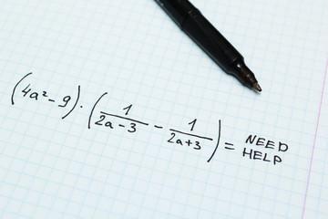 Algebra, need help.