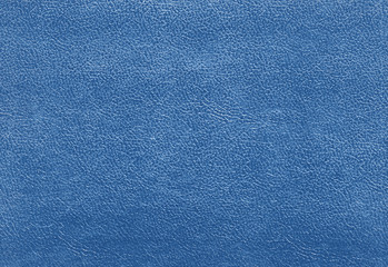 Blue color leather texture