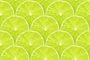 lime slices seamless