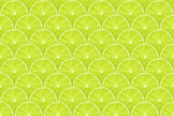 lime slices pattern