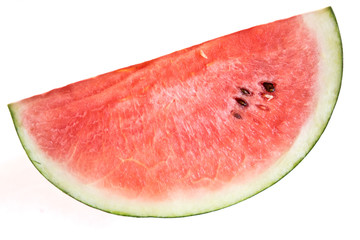 Watermelons are a sweet, popular fruit of summer, usually consumed fresh in slices, diced in mixed fruit salads, or as juice.