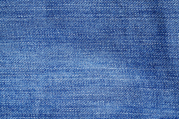Blue color weathered jeans pattern.
