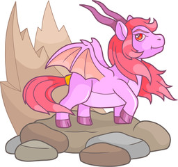 Pony dragon