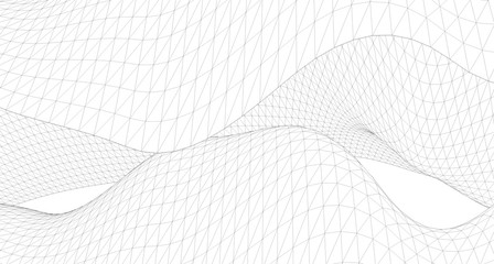 Geometric background, Abstract sketch, Architectural ,Construction ,Wireframe