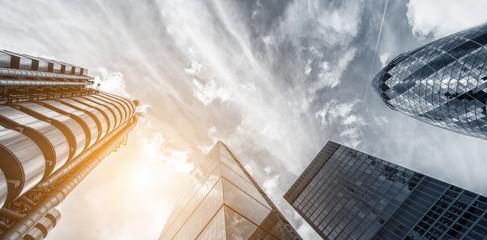 Office skyscraper Buildings Cityscape Personal Perspective Concept