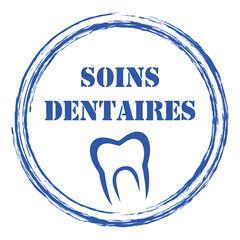 Logo soins dentaires.