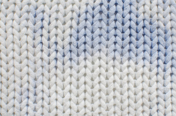 white blue sweater texture
