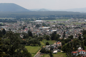 A view of the outskirts of Toluca