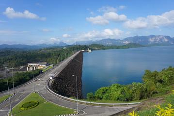 ratchaprapha dam or Cheow Lan Dam
