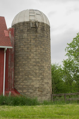 Old Silo in Wisconsin