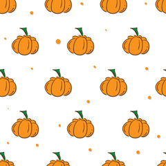 pattern fruit pumpkin background