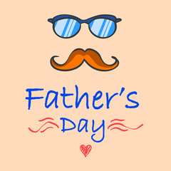 Father day celebration vector illustration