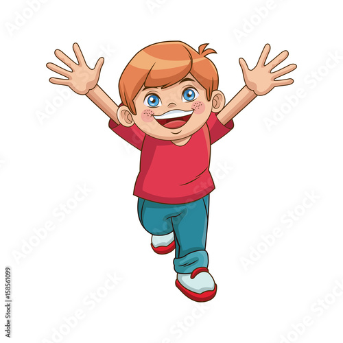 happy children day cartoon group boy smiling funny vector illustration stock image and royalty free vector files on fotoliacom pic 150605155