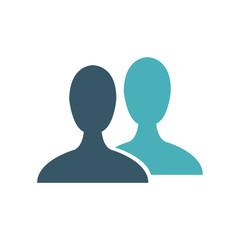 male avatar profile picture silhouette vector illustration